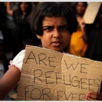 Tamil Refugee Girl